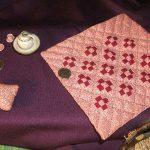 9 Patch Miniature Quilt 1/12 sizing